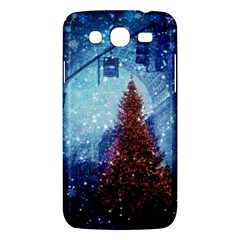 Elegant Winter Snow Flakes Gate Of Victory Paris France Samsung Galaxy Mega 5 8 I9152 Hardshell Case