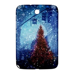 Elegant Winter Snow Flakes Gate Of Victory Paris France Samsung Galaxy Note 8.0 N5100 Hardshell Case