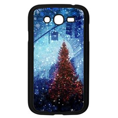Elegant Winter Snow Flakes Gate Of Victory Paris France Samsung I9082(galaxy Grand Duos)(black)