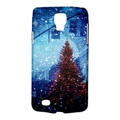 Elegant Winter Snow Flakes Gate Of Victory Paris France Samsung Galaxy S4 Active (I9295) Hardshell Case