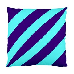 Purple Waves Cushion Case (Single Sided)