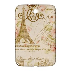 Floral Eiffel Tower Vintage French Paris Art Samsung Galaxy Note 8.0 N5100 Hardshell Case
