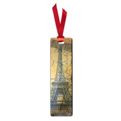 Vintage Stamps Postage Poppy Flower Floral Eiffel Tower Vintage Paris Small Bookmark