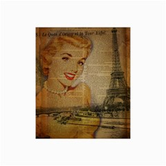 Yellow Dress Blonde Beauty   Canvas 20  x 30  (Unframed)