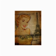 Yellow Dress Blonde Beauty   Canvas 24  x 36  (Unframed)