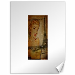Yellow Dress Blonde Beauty   Canvas 36  x 48  (Unframed)