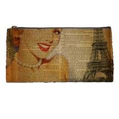 Yellow Dress Blonde Beauty   Pencil Case