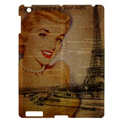 Yellow Dress Blonde Beauty   Apple iPad 3/4 Hardshell Case
