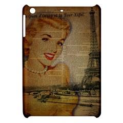 Yellow Dress Blonde Beauty   Apple Ipad Mini Hardshell Case