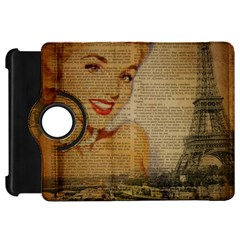 Yellow Dress Blonde Beauty   Kindle Fire HD 7  Flip 360 Case