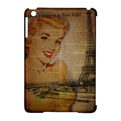 Yellow Dress Blonde Beauty   Apple iPad Mini Hardshell Case (Compatible with Smart Cover)