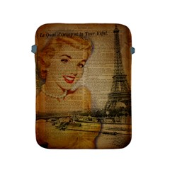 Yellow Dress Blonde Beauty   Apple iPad 2/3/4 Protective Soft Case