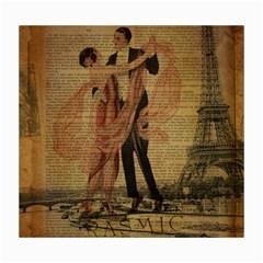 Vintage Paris Eiffel Tower Elegant Dancing Waltz Dance Couple  Canvas 16  x 20  (Unframed)