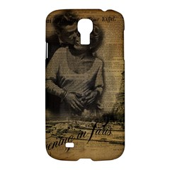 Romantic Kissing Couple Love Vintage Paris Eiffel Tower Samsung Galaxy S4 I9500/i9505 Hardshell Case