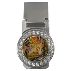 Funky Japanese Tattoo Koi Fish Graphic Art Money Clip (CZ)
