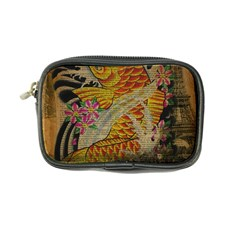 Funky Japanese Tattoo Koi Fish Graphic Art Coin Purse