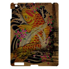 Funky Japanese Tattoo Koi Fish Graphic Art Apple Ipad 3/4 Hardshell Case