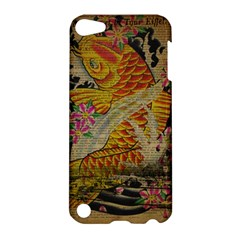 Funky Japanese Tattoo Koi Fish Graphic Art Apple iPod Touch 5 Hardshell Case