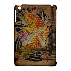 Funky Japanese Tattoo Koi Fish Graphic Art Apple Ipad Mini Hardshell Case (compatible With Smart Cover)