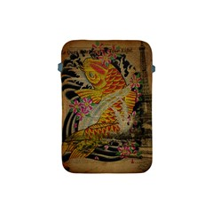 Funky Japanese Tattoo Koi Fish Graphic Art Apple iPad Mini Protective Soft Case