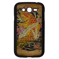 Funky Japanese Tattoo Koi Fish Graphic Art Samsung I9082(Galaxy Grand DUOS)(Black)