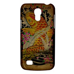 Funky Japanese Tattoo Koi Fish Graphic Art Samsung Galaxy S4 Mini Hardshell Case