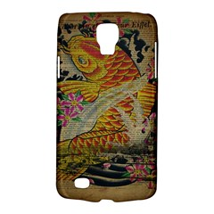 Funky Japanese Tattoo Koi Fish Graphic Art Samsung Galaxy S4 Active (I9295) Hardshell Case