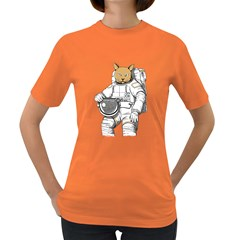Catstronaut Womens' T-shirt (Colored)