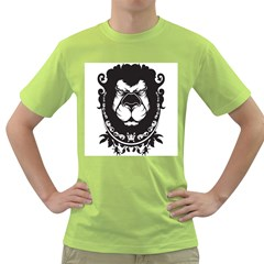 The King Mens  T Shirt (green)