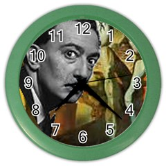 Dali s whiskers Wall Clock (Color)