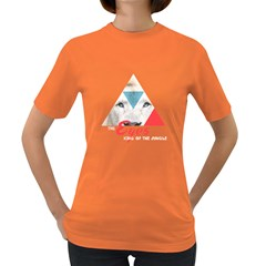 Lion Eyes Womens' T Shirt (colored)