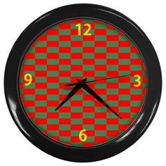 Colorblind Wall Clock (Black)