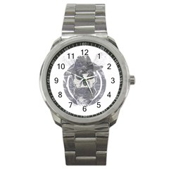 Skull  Sport Metal Watch