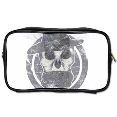 Skull  Travel Toiletry Bag (One Side)