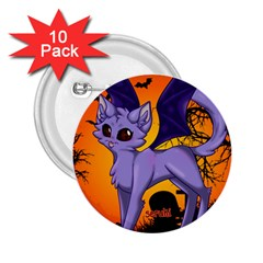 Serukivampirecat 2 25  Button (10 Pack)