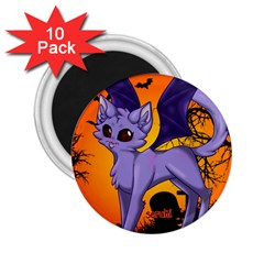 Serukivampirecat 2.25  Button Magnet (10 pack)