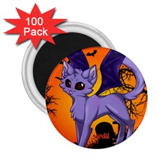 Serukivampirecat 2 25  Button Magnet (100 Pack)