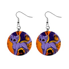 Serukivampirecat Mini Button Earrings