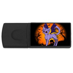 Serukivampirecat 2GB USB Flash Drive (Rectangle)