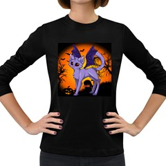 Serukivampirecat Womens' Long Sleeve T-shirt (Dark Colored)