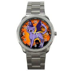 Serukivampirecat Sport Metal Watch