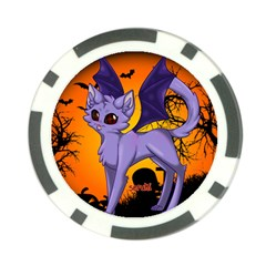 Serukivampirecat Poker Chip