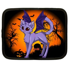 Serukivampirecat Netbook Case (Large)