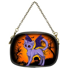 Serukivampirecat Chain Purse (two Sided)
