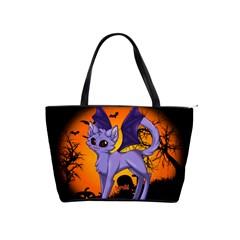 Serukivampirecat Large Shoulder Bag