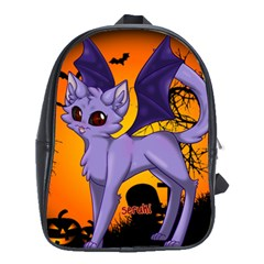 Serukivampirecat School Bag (large)