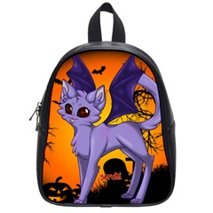 Serukivampirecat School Bag (Small)
