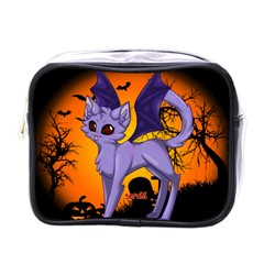 Serukivampirecat Mini Travel Toiletry Bag (One Side)