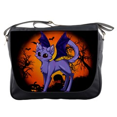 Serukivampirecat Messenger Bag