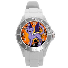 Serukivampirecat Plastic Sport Watch (Large)